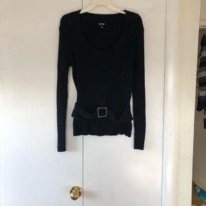 Apt 9 Xl Sweater with belt detail